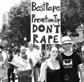 stop rape sign